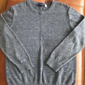 Children's Place gray sweater- boys XL (14)